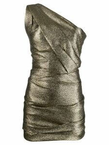 Dsquared2 one-shoulder mini cocktail dress - Gold