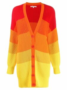 Chinti & Parker chunky knit cardigan - Red