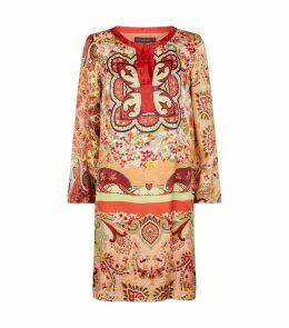 Floral Kaftan Dress
