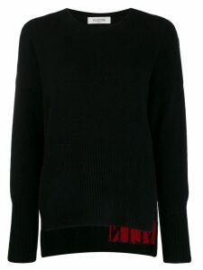 Valentino VLTN jumper - Black