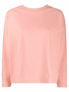 Chinti & Parker stripe detail jumper - Pink