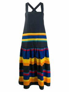 Chinti & Parker striped shift dress - Blue