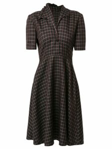 Zambesi tartan print shirt dress - Multicolour