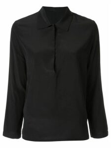 Zambesi Onyx placket shirt - Black
