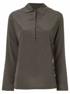 Zambesi Slate placket shirt - Grey