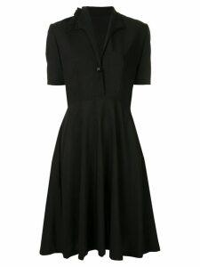 Zambesi Nightshade pleated dress - Black