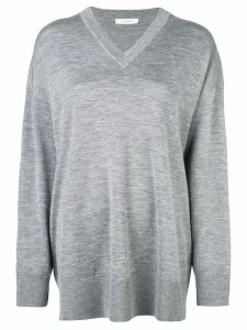 The Row fine-knit jumper - Grey