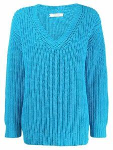 Chinti & Parker v-neck jumper - Blue