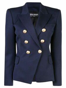 Balmain classic fitted blazer - Blue