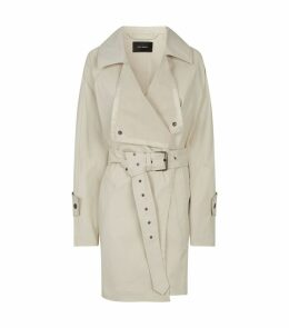 Jamelo Belted Trench Coat