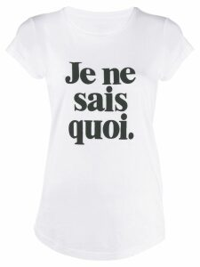 Zadig & Voltaire slogan print T-shirt - White