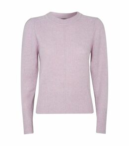 Conway Puffed Shoulder Sweater