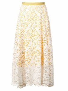 Dorothee Schumacher lace skirt - White