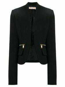 Emilio Pucci Open Front Blazer - Black