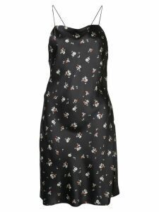 Re/Done floral print dress - Black
