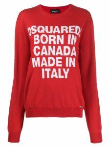 Dsquared2 Born In Canada knit sweater