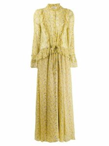 Zadig & Voltaire Roma Anemone floral dress - Yellow