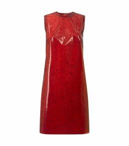 Vinyl Lace Mini Dress