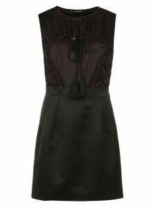 À La Garçonne Coração dress - Black