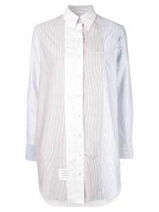 Thom Browne striped shirt dress - Multicolour