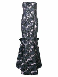Zac Zac Posen Flo floral print gown - Grey