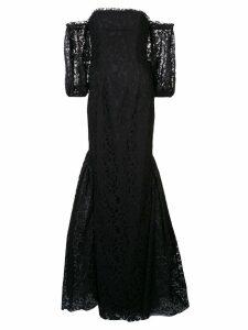 Zac Zac Posen Lexi off-shoulder gown - Black