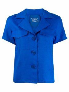 Simon Miller short sleeve shirt - Blue