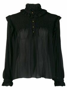 Philosophy Di Lorenzo Serafini ruffled details blouse - Black
