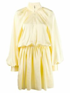 Jourden Windbreaker mini dress - Yellow