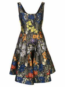 Zac Zac Posen Dita floral print dress - Black