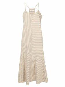 Tibi Kaia stripe cami dress - Brown