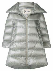 Herno padded zipped coat - Grey