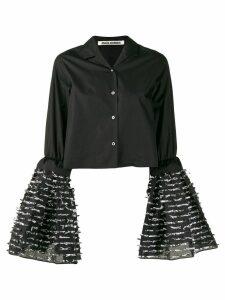 Jourden flared sleeve shirt - Black