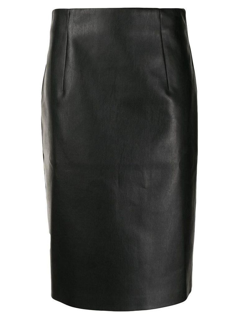 Piazza Sempione straight-fit midi skirt - Black