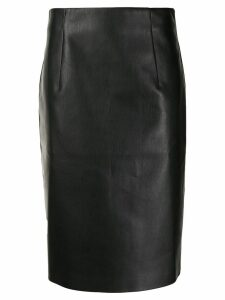 Piazza Sempione straight-fit midi skirt - Black