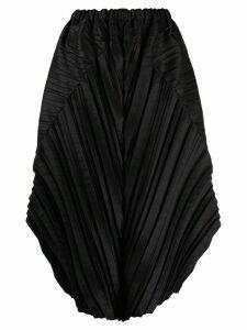 Issey Miyake pleated skirt - Black