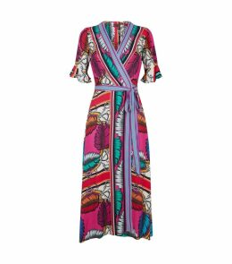 Greta Wrap Dress