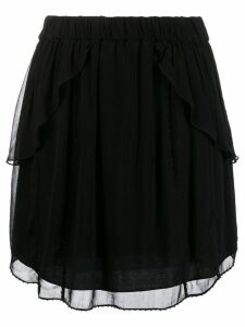 Iro layered skirt - Black