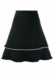 Michael Michael Kors ruffled hem skirt - Black