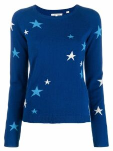 Chinti & Parker star knit jumper - Blue