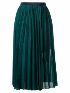 Sacai pleated skirt - Blue