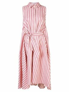 Palmer / Harding striped shirt dress - White