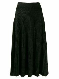 Marni plisse midi skirt - Black