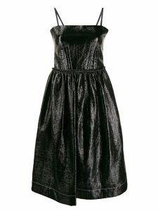 Marni sleeveless midi dress - Black