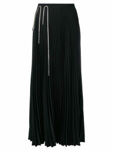 Christopher Kane squiggle cupchain pleated skirt - Black