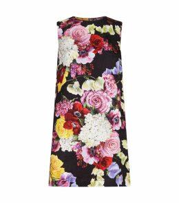 Floral Brocade Dress