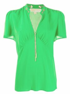 Michael Michael Kors chain embellished blouse - Green