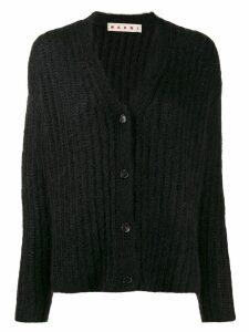 Marni ribbed cardigan - Black