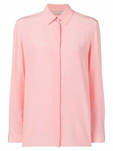 Emilio Pucci Rose Pink Long Sleeved Silk Shirt