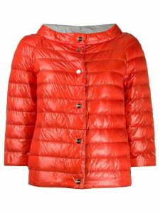 Herno puffer jacket - Orange